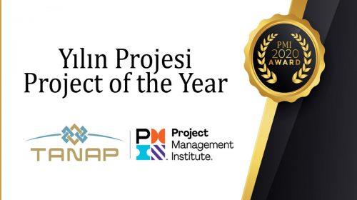 Proje Yönetim Dünyasının Oscar'ı TANAP'a Verildi