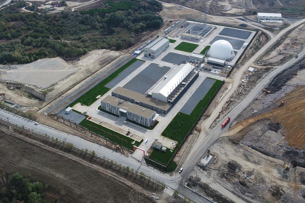 Seymen Çöp Gazı Enerji Üretim Tesisi'nin İlk Etabı Açıldı