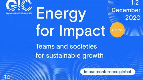 """Küresel Etki Konferansı, """"Eylem Enerjisi"""" Sloganıyla Aralık'ta"""