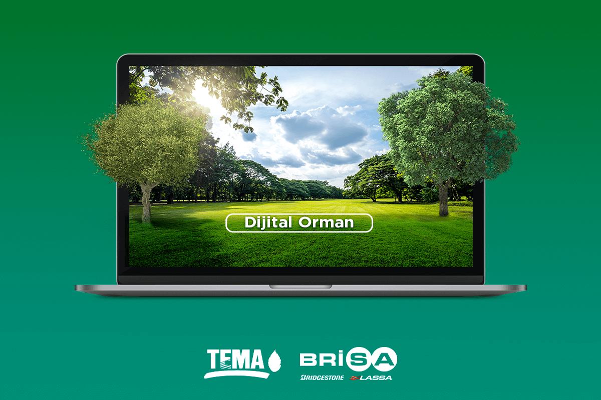 Brisa ve TEMA Vakfı İş birliğinde Dijital Orman