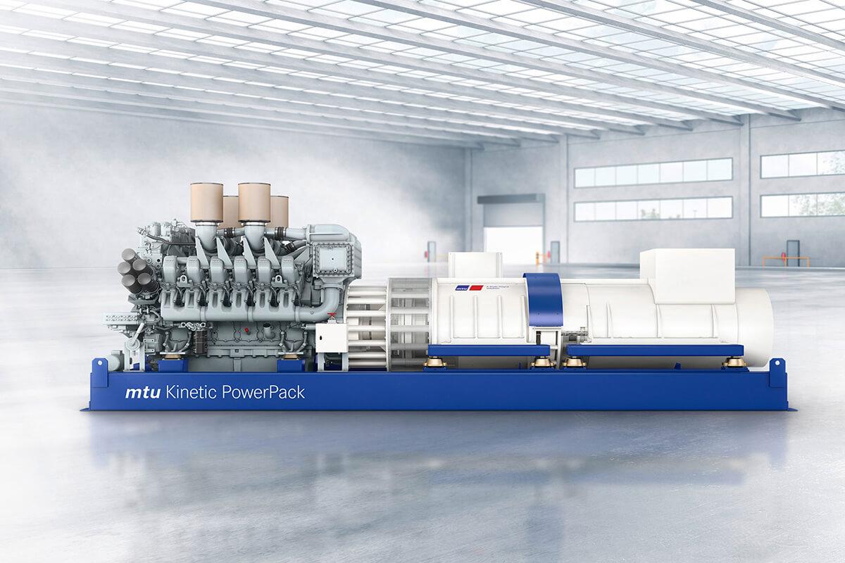 Rolls-Royce, mtu Ürün Yelpazesine Kinolt Kesintisiz Güç Kaynağını Ekledi