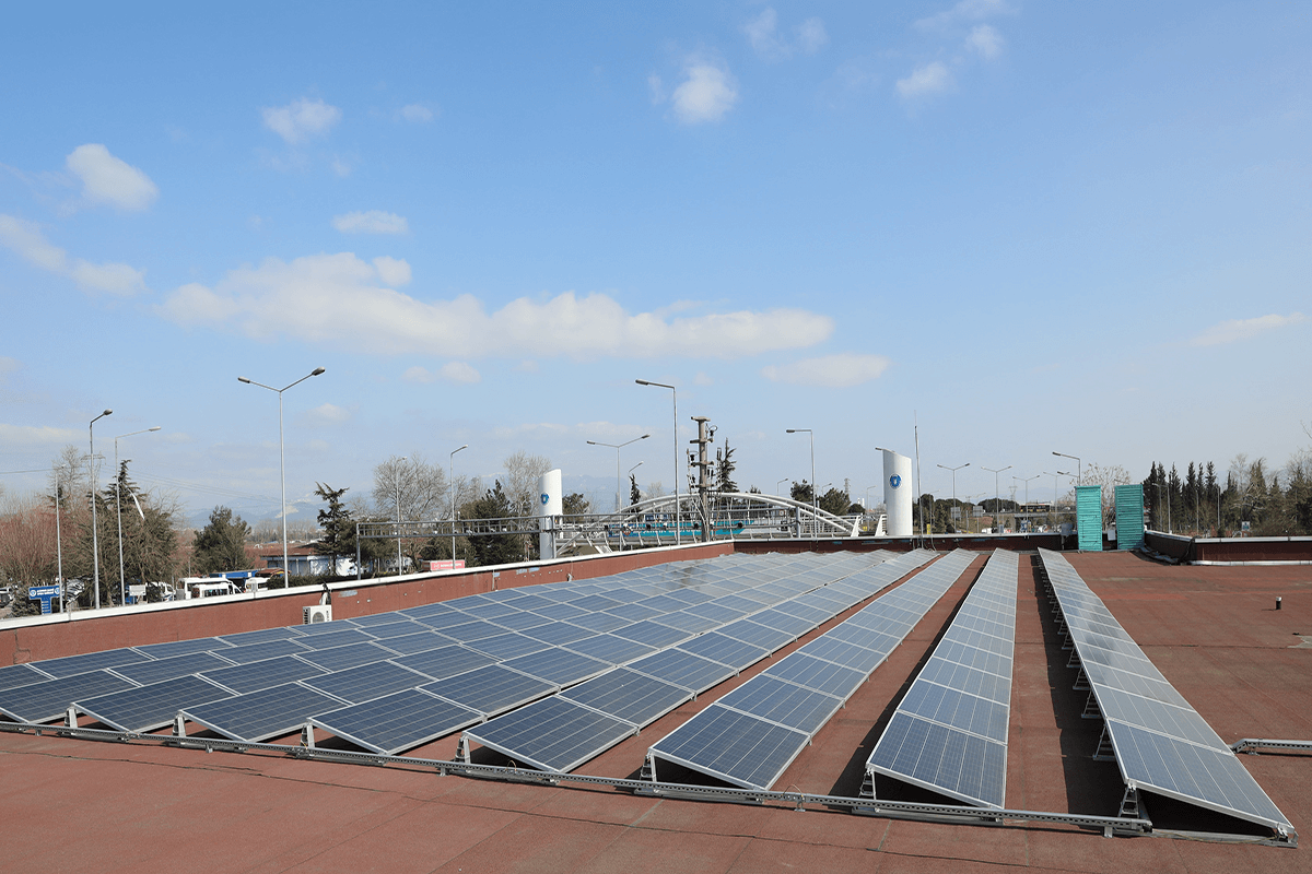 Bursa Büyükşehir Belediyesi 30 Bursaray İstasyonunun Çatısına GES Kuracak