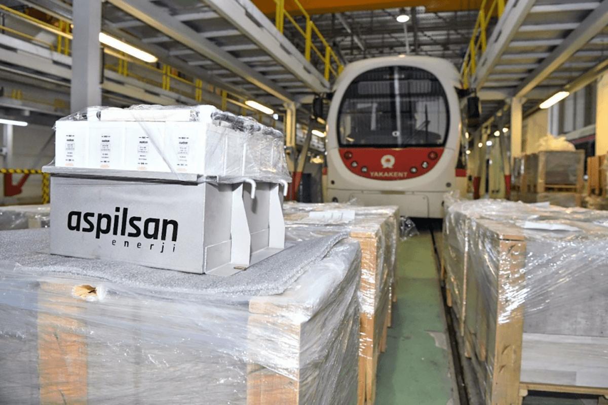 Samsun Büyükşehir Belediyesi,  Tramvay Filosunun Akülerini ASPİLSAN ile Yeniledi